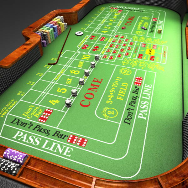 Learn to play Craps and become a part of gambling world